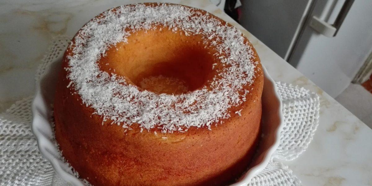 bolo de iogurte grego e limão