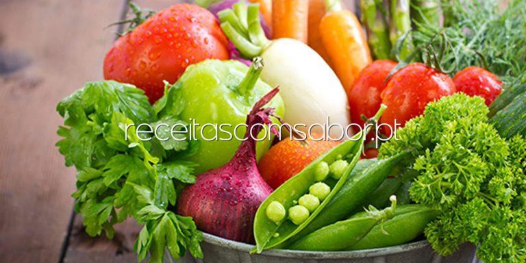 desinfetar frutas e verduras