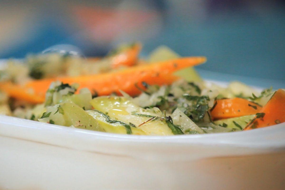 legumes e verduras em salada