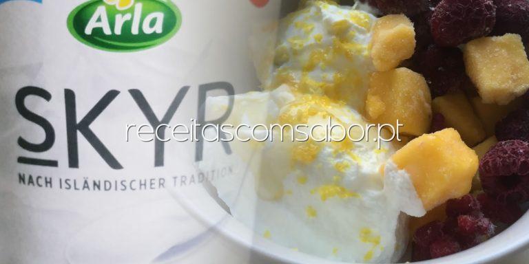 Skyr - o iogurte dos vikings